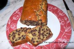 Cake noisettes et chocolat