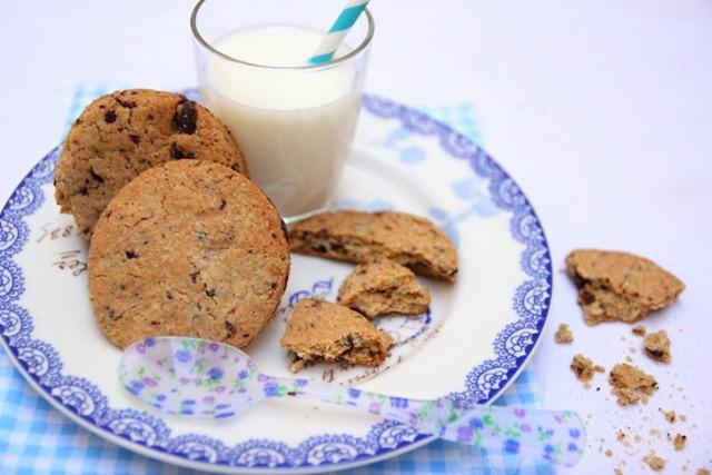 Biscuits épeautre huile essentielle citron