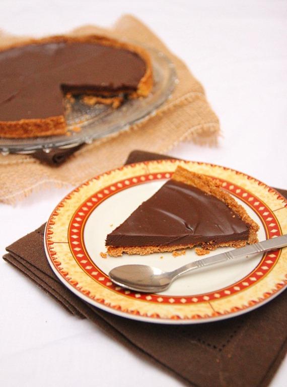 Tarte au chocolat noir CAP pâtissier