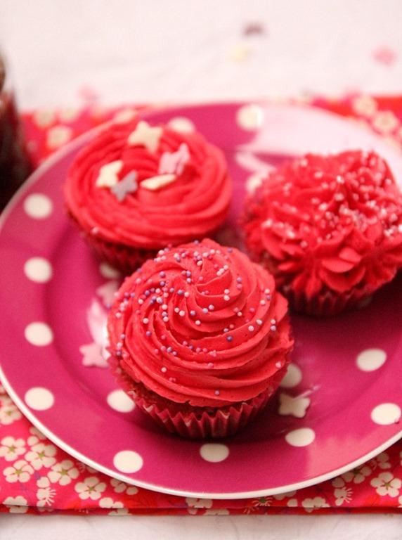 cupackes saint Valentin
