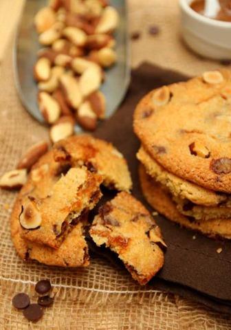 Cookies chocoalt noix du Brésil